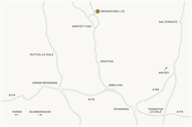 dringstone ltd location map